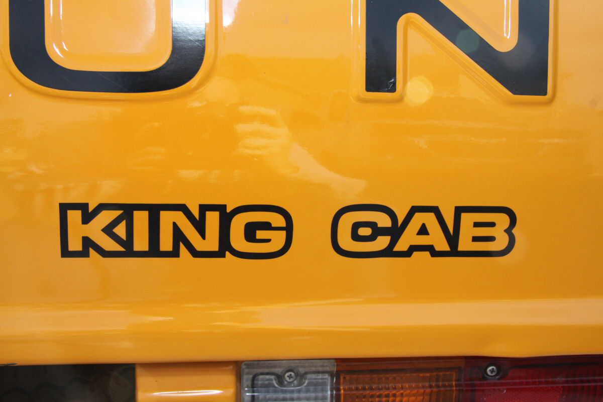 1980-1984 Datsun 720 Truck King Cab Rear Tailgate Decal