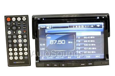 "Soundstream VR-730B Single Din 7"" DVD/CD/MP3 Player Built-in Bluetooth Remote"