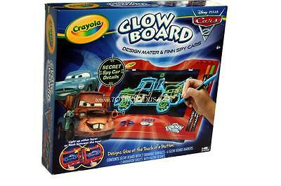Crayola Cars 2 Glow Board Ages 6 Designs Glows at the Touch of a Button Toys