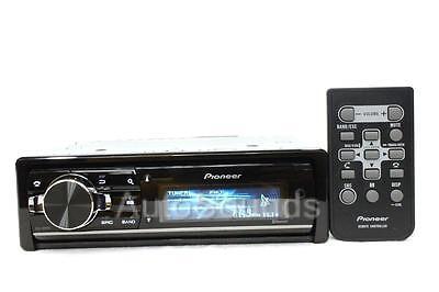 New Pioneer DEH-80PRS Audiophile CD/MP3/WMA Player 16 Band Digital EQ Bluetooth