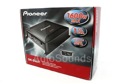 NEW Pioneer GM Digital Series GM-D8601 1600 Watt Monoblock Class D Car Amplifier