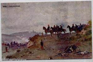 CRAFFONARA-Solferino-1859-PC-WWI-Circa-1917-Pubblicita-LA-VELOCE-NAVIGAZIONE