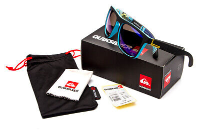 QuikSilver Sunglasses 7 Colors With Box Outdoor Sport Beach Wear (With Sunglasses)