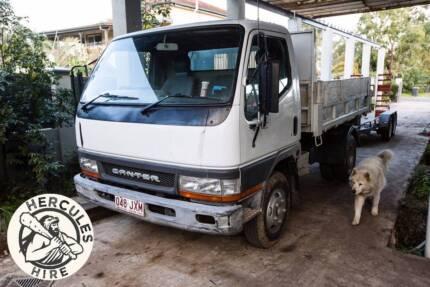 Hercules Hire Mini Tipper Truck for hire - Rocklea