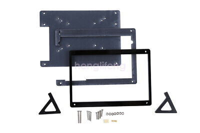 New Black Acrylic Case Housing For 7 Inch Usb Hdmi Display For Raspberry Pi