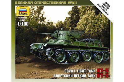 ZVEZDA 6129 1/100 Soviet Light Tank BT-5