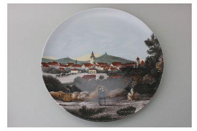 Porzellan Wandteller mit Ortsansicht - Villeroy & Boch