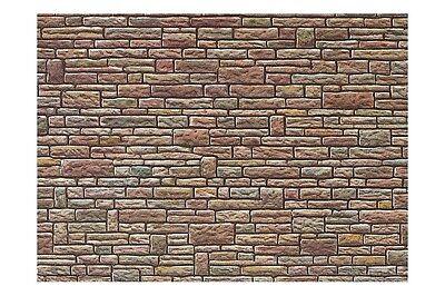 Faller 170604 HO /187 Plaque de mur, Grès, vert-jaune-brun