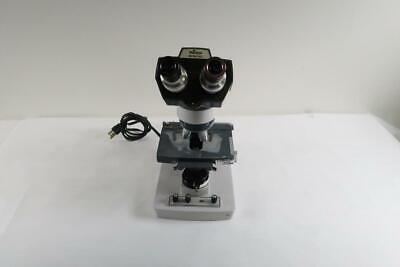 American Optical One-ten Microscope With 4 Objective Lens