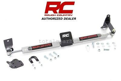 - 03-12 Dodge Ram 2500 3500 4WD Rough Country Dual Steering Stabilizer [8749530]
