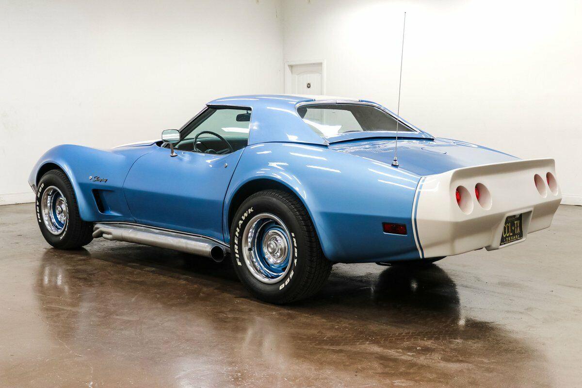 1974 Blue Chevrolet Corvette     C3 Corvette Photo 9