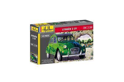HELLER 80765 1/24 2 CV Citroën