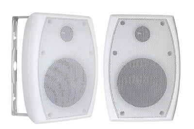 Custom Audio 4-Inch, 2-way In/Outdoor Speakers. Mounts Inclu