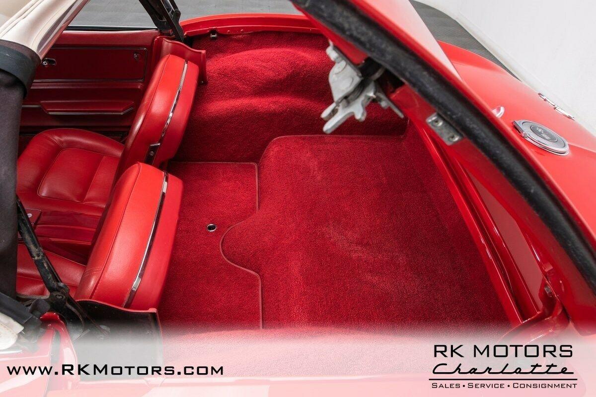 1965 Red Chevrolet Corvette   | C2 Corvette Photo 5
