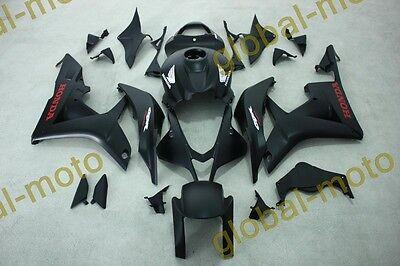 ABS Fairings for Honda CBR600rr 07-08  matt black colors 2007 2008 bodykits