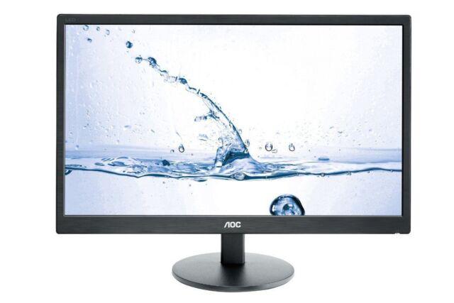 "AOC M2470SWH 23.6"" LED LCD Computer Monitor 5MS Full HD 16:9 HDMI VGA Speaker VA"