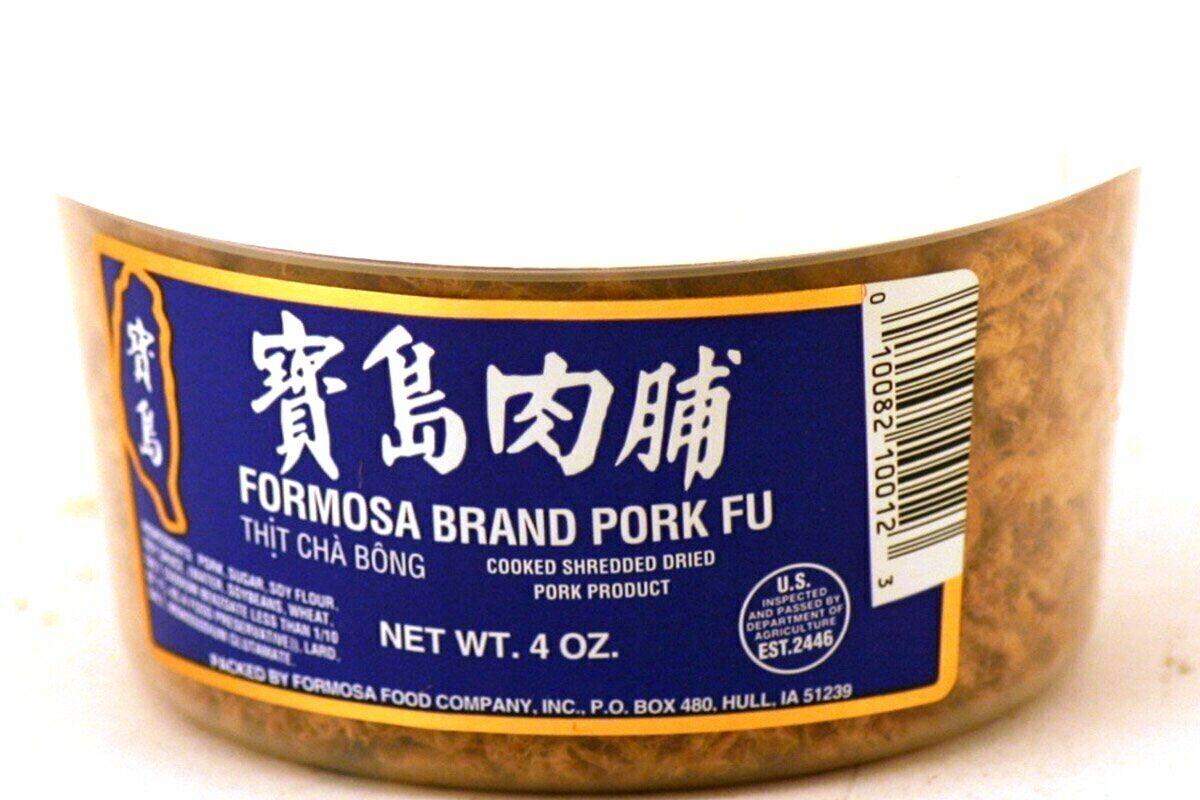 как выглядит Formosa Brand Pork Fu Cooked Shredded Dried pork Products 4 oz Pack of 3 фото