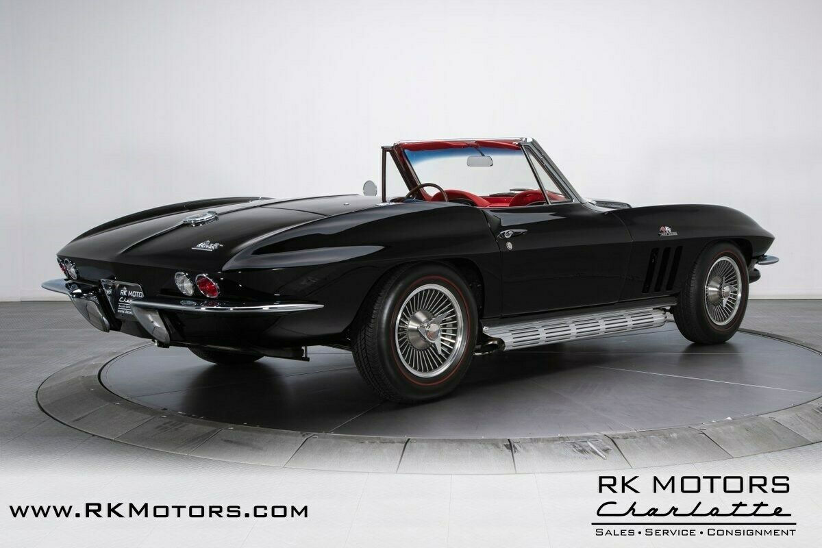 1966 Black Chevrolet Corvette   | C2 Corvette Photo 2