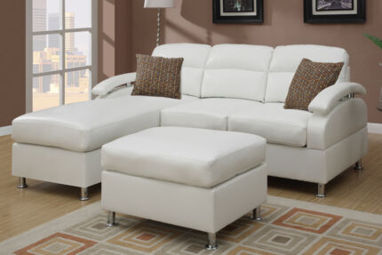New sofa lounge couch in black, burgundy or white FREE DELIVERY Brisbane City Brisbane North West Preview