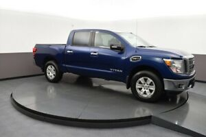 2017 Nissan Titan SV WITH A TOW PACKAGE, BED LINER, FOG LIGHTS A