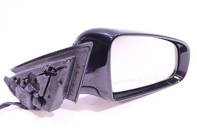 AUDI A3 8P 20    SIDE VIEW ELECTRONIC MIRROR w GLASS   DRIVER SIDE   BLACK