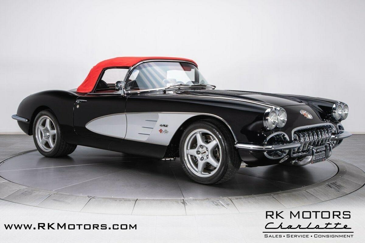 1958 Black Chevrolet Corvette   | C1 Corvette Photo 10