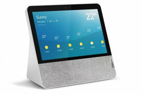 Lenovo Smart Display 7 with Google Assistant WIFI Grey NEW Sealed