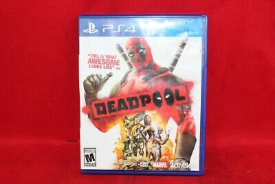 Deadpool (Sony PlayStation 4, 2015) PS4 NO DLC (CP1058283)