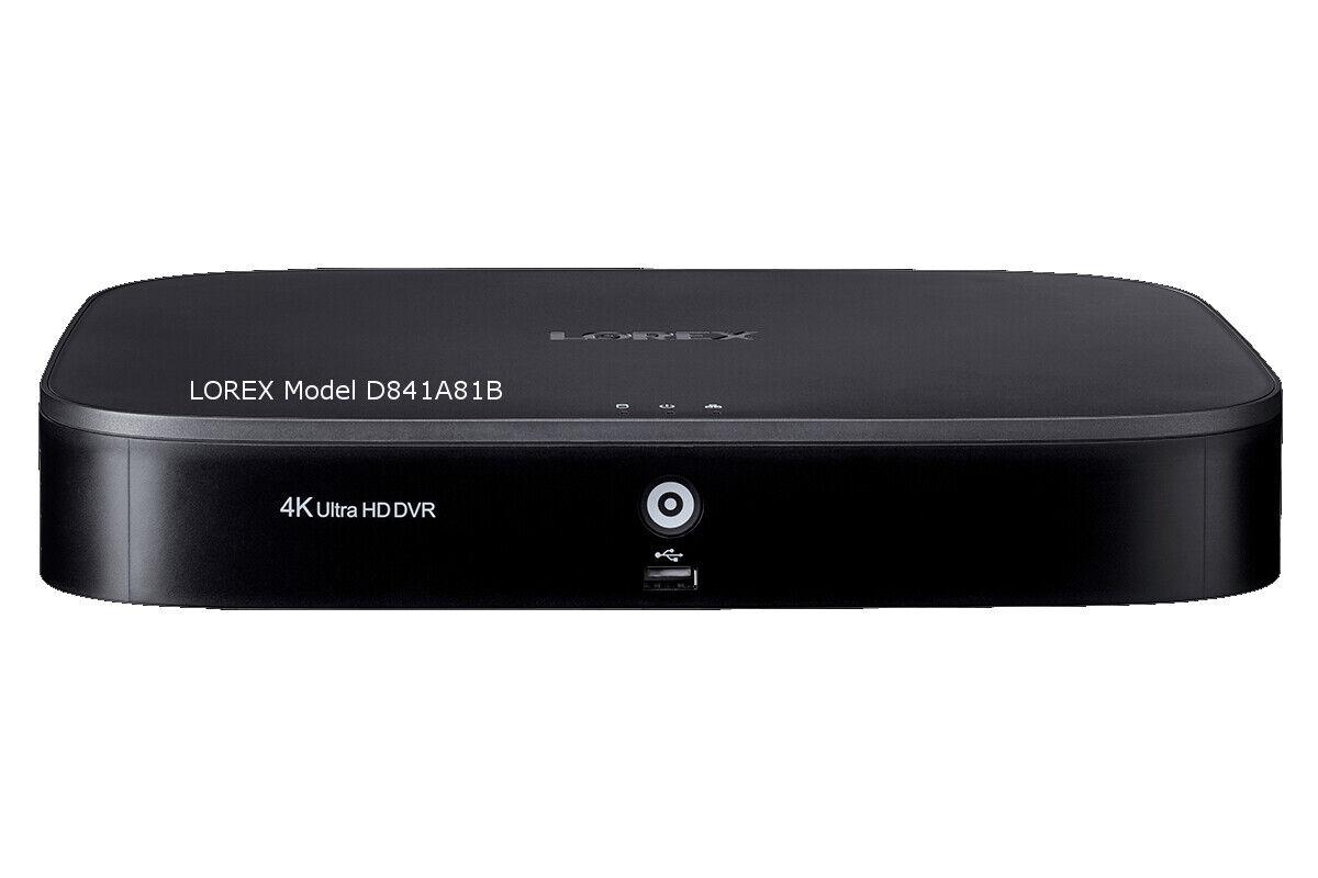 DVR Lorex  4K Ultra DVR 8 Channel, HD MPX 1TB 1080p Security