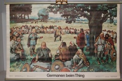 Schulwandkarte Role Map Wall Chart Germanic at The Thing Rodewald Breyer