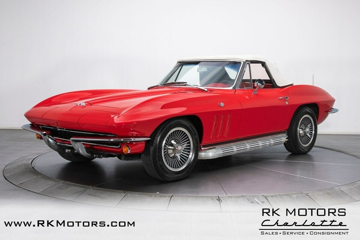 1965 Red Chevrolet Corvette   | C2 Corvette Photo 7