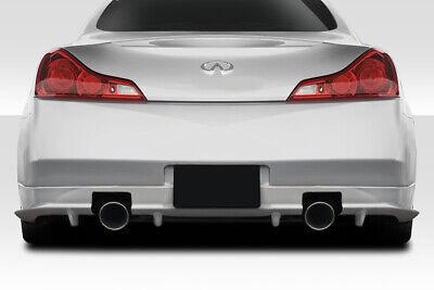 03-07 For Infiniti G Coupe 2DR Vader Duraflex Rear Bumper Lip Body Kit!!! -