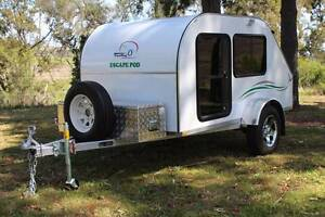 Teardrop Camper Trailer  Escape Pod Eco Warwick Southern Downs Preview