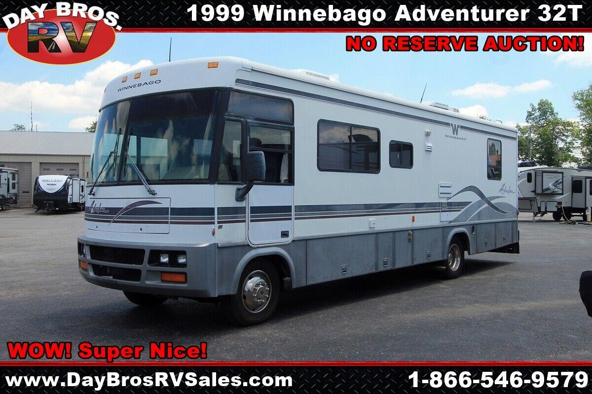 99 Winnebago Adventurer 32T Class A RV Ford Gas Motorhome Camper Coach Sleeps 6