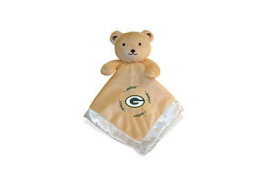 Green Bay Packers 14x14 Security Bear Blanket Baby Fanatic NFL Hologram NWT