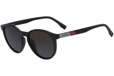 New Lacoste L874S-001-5218 Black 52mm (Lacoste Ladies Sunglasses)