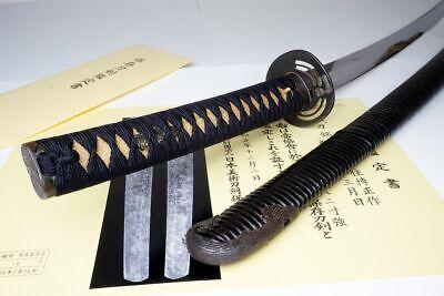 NBTHK & DAIMYO Regist: WAZAMONO Japanese Katana Sword Hiromasa博正 Samurai Nihonto