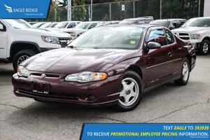2004 Chevrolet Monte Carlo LS Sunroof and Air Conditioning