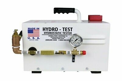 General 6334-750 Hydrostatic Test Pump 750psi New