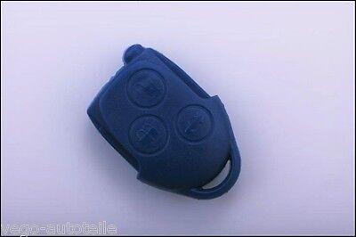 1x Ford Transit Remote Control Remote Key Case 3 Button Blue NEW