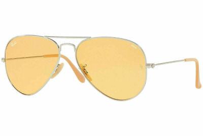 Ray Ban Evolve Orange Photocromic Aviator Unisex Sunglasses RB3025 9065V9 (Ray Ban Aviator Photochromic)