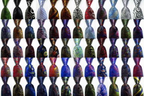 New Classic Paisley Jacquard Woven 100% Silk Men