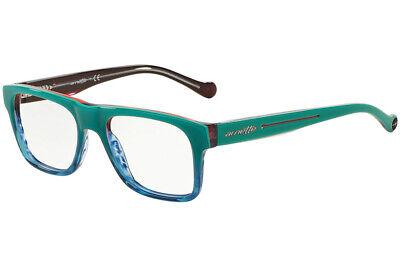 NEW ARNETTE EYEGLASSES HIGH HAT 7086 1166 49 TURQUOISE BLUE RED (Arnette Eyeglasses)