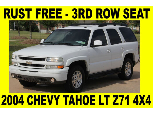 2004 chevy tahoe lt z71 4x4 rust free clean tx title. Black Bedroom Furniture Sets. Home Design Ideas