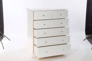 Solid Pine Chest of Drawers - NO MDF Drawers!! Woolloomooloo Inner Sydney Preview