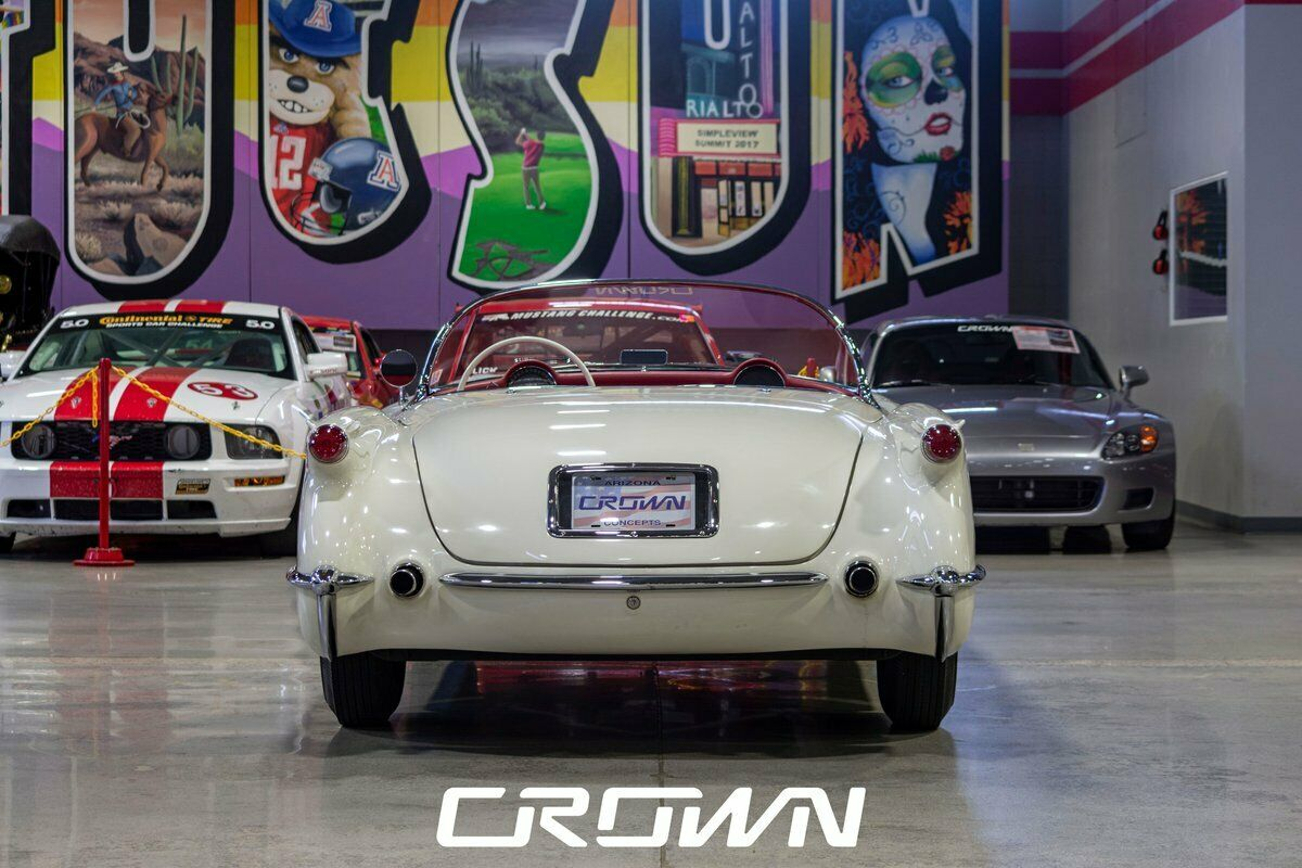 1954 White Chevrolet Corvette   | C1 Corvette Photo 4
