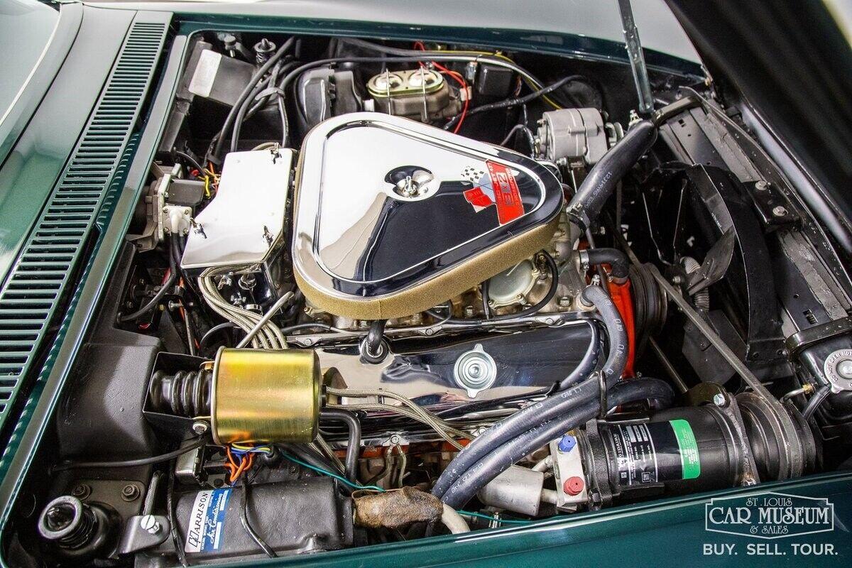 1968 Green Chevrolet Corvette     C3 Corvette Photo 7