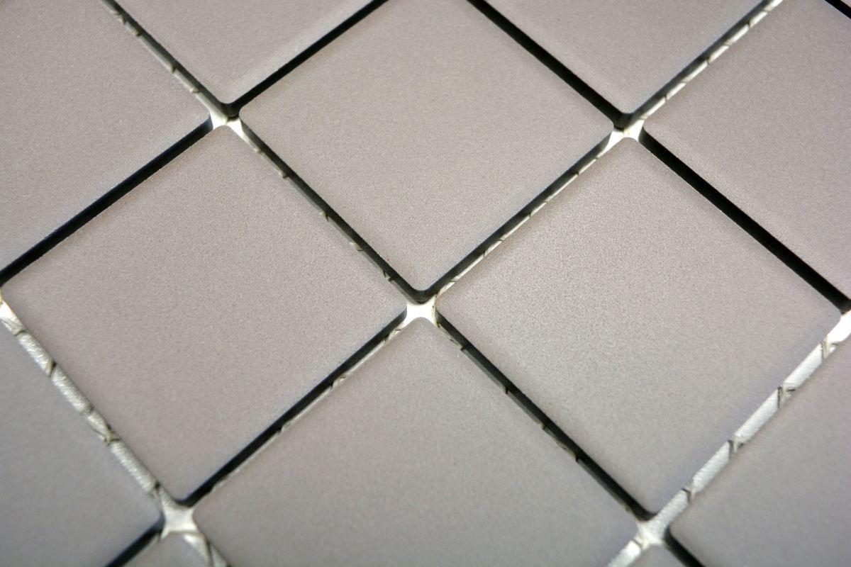 Plaque Sur Carrelage Cuisine détails sur mosaïque carrelage céramique gris non vitré cuisine mur  14b-0204-r10_b |1 plaque