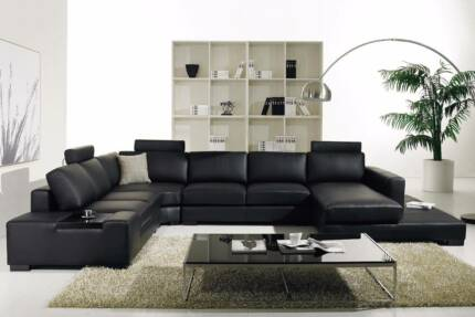 CLEARANCE SALE - THIS WEEKEND! HOLLYWOOD LEATHER MODULAR LOUNGE