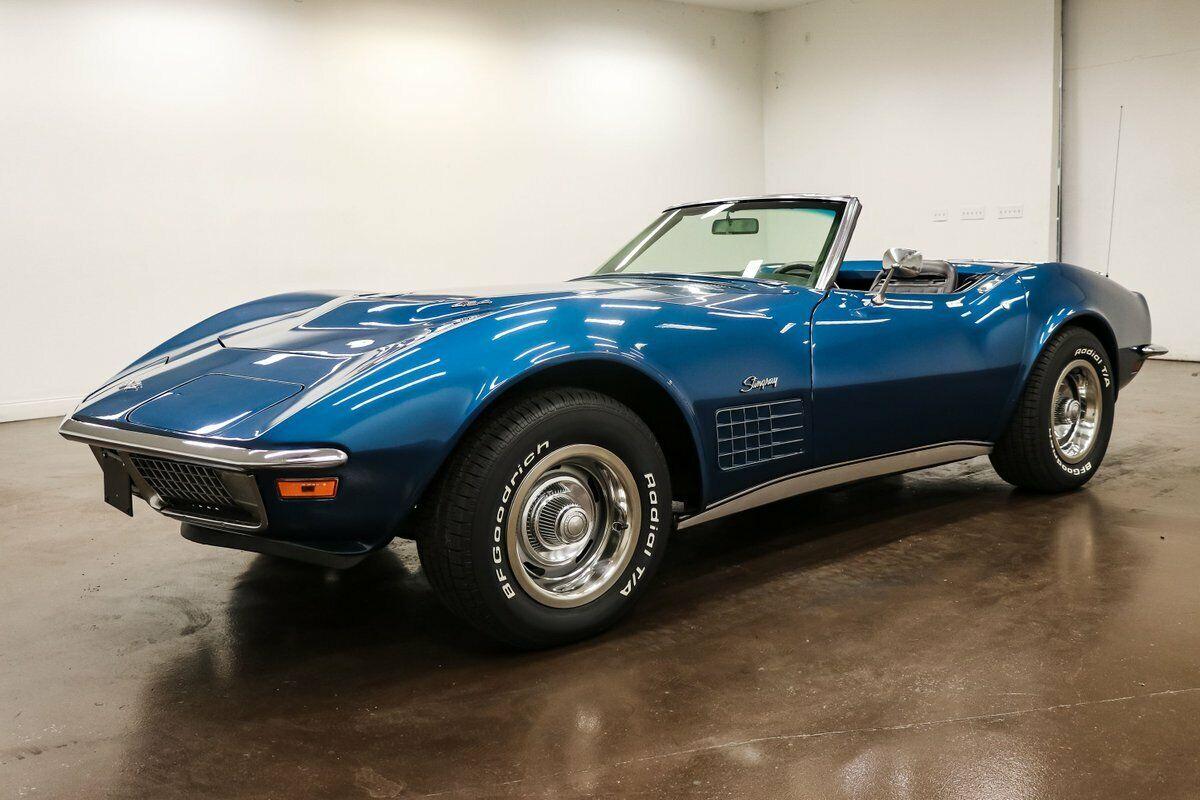 1970 Blue Chevrolet Corvette Stingray  | C3 Corvette Photo 4